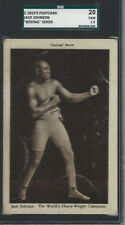 JACK JOHNSON 1910's Boxing Series (England) Real Photo Postcard World Champion