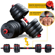SPORTSTECH 2 in 1 innovatives Hantel-Set AH150 | Im 20kg, 30kg, 40kg Set