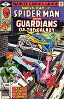 MARVEL TEAM-UP #86 F/VF, SPIDER-MAN, GUARDIANS, Marvel Comics 1979 Stock Image