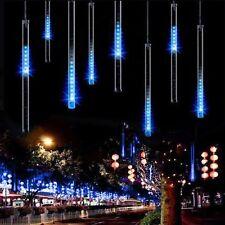 Meteor Shower Falling Star/Rain Drop/Icicle Snow Fall LED Xmas Tree String Light