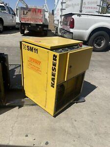 Kaeser SM11 10HP Air Compressor