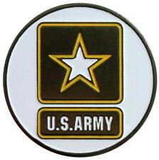 Two Sided Army Golf Ball Marker with USA Hat Clip