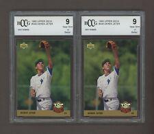 LOT (2) 1993 Upper Deck #449 Derek Jeter New York Yankees BCCG 9 #1