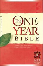 The One Year Bible NLT (One Year Bible: New Living Translation-2) by , (Paperbac