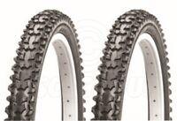 2 Bicycle Tyres Bike Tires - Mountain Bike - 26 x 1.95 - High Quality
