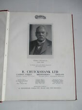 CRUICKSHANKS BIRMINGHAM WEST BROMWICH TRADE CATALOGUE INDUSTRIAL EQUIPMENT