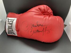marvin hagler signed glove