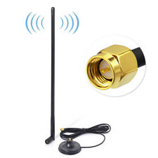 15dBi Dual Band 2.4GHz 5GHz 5.8GHz WiFi Antenna with SMA Male Magnetic Base