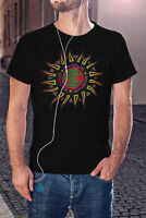 Alice In Chains Men Black T-shirt SEATTLE Grunge Tee Metal Band Shirt