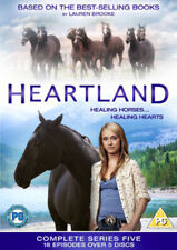 Heartland: The Complete Fifth Season DVD (2012) Amber Marshall cert PG 5 discs