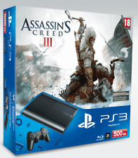 Playstation 3 500Gb Slim With Assassin's Creed III (PS3)