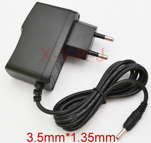 EU Power Supply 12V 1A 2A 3A 200mA 300mA 400mA 500mA 600mA- 800mA 3.5mm x 1.35mm