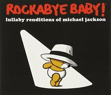 ROCKABYE BABY! Lullaby Renditions Of Michael Jackson 2013 US 13-trk CD sealed