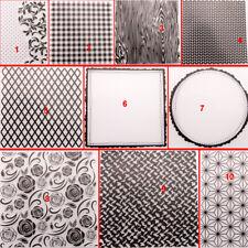Net Lace Folder Plastic Template Embossing Dies Stencil Art DIY Rose Vine Frame