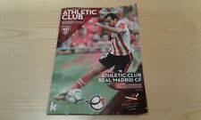 Athletic Bilbao v Real Madrid official programme 02.12.2017