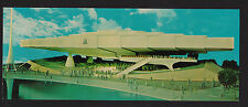 "1964 Bell System Pavilion New York World's Fair exposition postcard 3.5 x 9"""