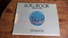AMATEUR RADIO LOG BOOK 1985-Started logging in 1987 thru 2000 includes misc item
