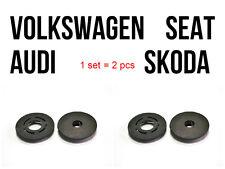 Carmats Fixation Systems Audi Volkswagen Skoda Seat Kit 2 pcs Fasteners Black
