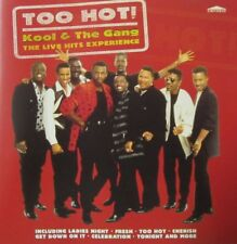 KOOL & THE GANG - TOO HOT ! -  THE LIVE HITS EXPERIENCE  -  CD