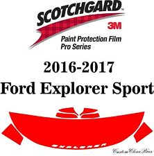 3M Scotchgard Paint Protection Film Pro Series 2016 2017 Ford Explorer Sport