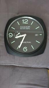 Horloge Murale Panerai Radiomir Black Seal