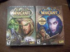 World of WarCraft & Expansion Set World of Warcraft Burning Crusade TAKE A LOOK!