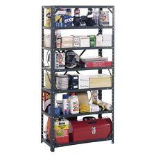 Heavy Duty Metal Rack 7-Shelf Steel Shelving Unit Garage Storage Organizer NEW