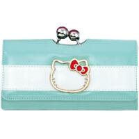 NEW SANRIO HELLO KITTY Wallet Purse Loungefly Mint Green KAWAII JAPAN LIMITED