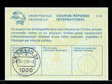 GERMANY 1981 -- International Reply Coupon IRC