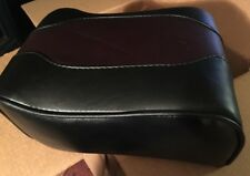NOS - GENUINE HARLEY DAVIDSON Early OEM Two-Tone LEATHER Rear Passenger SEAT