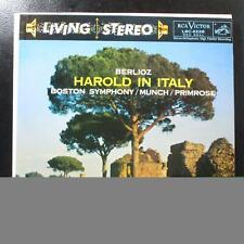 Primrose - Berlioz: Harold In Italy VG+ Stereo LP RCA LSC-2228 USA 1958