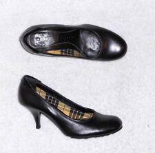 VIC MATIE escarpins cuir noir P 37 = 38 TBE
