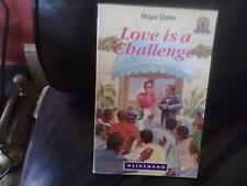 Love is a Challenge-Hope Dube Paperback English Genre Fiction Heinemann 1992