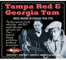 Music Making In Chicago 1928-35 - 4 DISC SET - Tampa & Tom Georg (2012, CD NEUF)