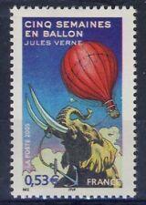STAMP / TIMBRE FRANCE N° 3789 ** JULES VERNE BALLON