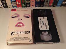 Whispers Horror Thriller VHS 1990 Victoria Tennant Chris Sarandon Dean Koontz