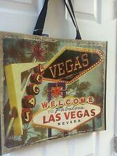Marshalls Las Vegas Welcome Keepsake Reusable Shopping Tote Bag Collect