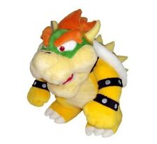 "10"" Super Mario Plush --Bowser Soft Stuffed Plush Toy Loose CJ323"