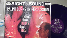 RALPH BURNS WHERE THERE BURNS THERE'S FIRE LP ON WARWICK RECORDS