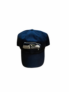 NWT New Seattle Seahawks Logo Fitted Hat Cap Size XXL