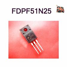 FAIRCHILD SEMICONDUCTOR - FDPF51N25 - MOSFET,N CH,250V,28A,TO220F UK Stock