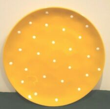 """Maxwell Williams Sprinkle Yellow Dinner Plate 10-5/8"""""""