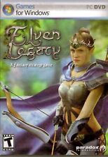 NEW Elven Legacy Turn Based Strategy PC Computer Video Game fantasy wars orcs