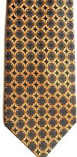 "Men's Store (Weller's) Men's Silk Tie 60.5"" X 4"" Multi-Color Geometric"