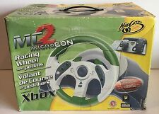 Mad Catz XBOX MC2 Microcon Racing Wheel with Pedals NEW Open Box Ships FREE