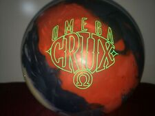 New Storm Omega Crux Bowling Ball | 1st | 15#4oz Top 2.43oz Pin 3-3.5""