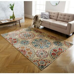 Luxury Classic Traditional Rugs for Living Room Small Medium Large Rug Carpet