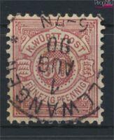 Württemberg 58 gestempelt 1890 Ziffern im Kreis (9158132