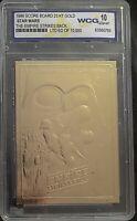 Star Wars EMPIRE STRIKES BACK 23kt Gold Card Score Board 1996 WCG 10 Gem Mint