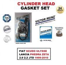 Set Joint de culasse pour FIAT SCUDO ULYSSE LANCIA PHEDRA ZETA 2.0 2.2 JTD